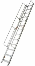 折りたたみ式階段梯子