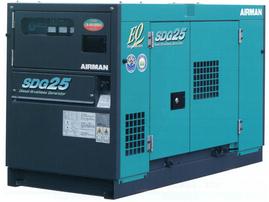 25KV超低騒音発電機