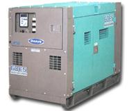 60KV超低騒音発電機