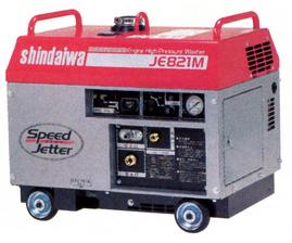 防音型エンジン式洗浄機