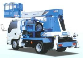 12Mトラック式高所作業車