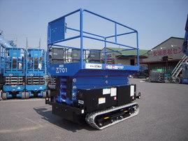 7Mバッテリー式高所作業車