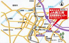 会場地図(JA西三河高河原センター)