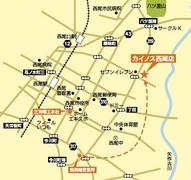 会場の地図です。